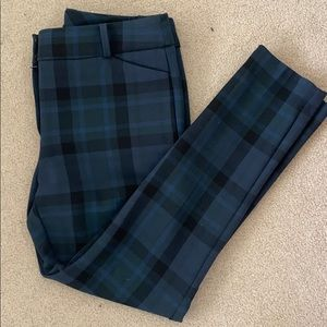 Loft plaid pants - Marisa fit